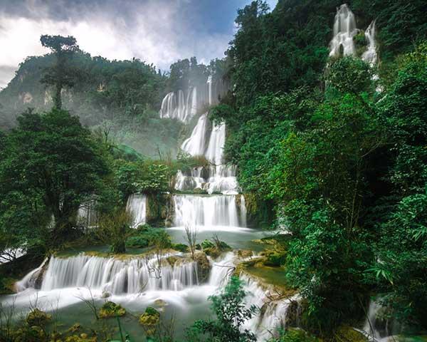 Водопады в Тайланде