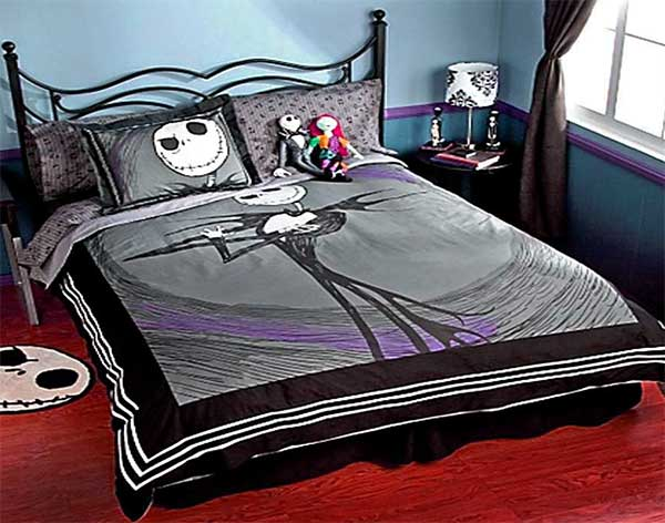 Страшное постельное белье