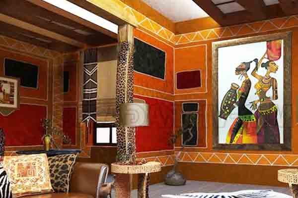 Африка в интерьере жилья